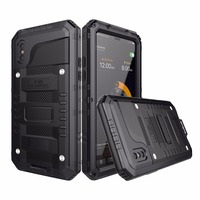R JUST Luxury Heavy Duty Hybrid Metal Armor Shockproof Aluminum Case For IPhone 6 6S 7