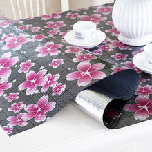 Pastoral style PVC table cloth Coffee table mat Waterproof anti-hot anti-oil tablecloth Soft glass plastic dining table cover europe luxury party tablecloth non slip waterproof table cloth oil proof pvc soft glass plastic table cover coffee table mat