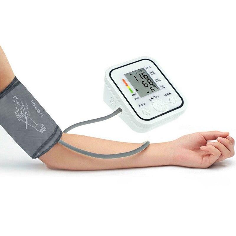 BP-826 Цифров bp Монитор за кръвно налягане Сфигмоманометър маншет Non-Voice Автоматичен апарат за горно рамо на кръвното налягане Здравеопазване