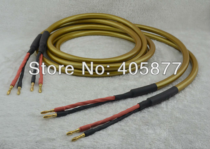 Hi End Hexlink Gold Five Hi Fi Speaker cable pair 2,5m hi fi speaker