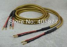 Hi End Hexlink золото пять Hi Fi Динамик кабель пара 2,5 м