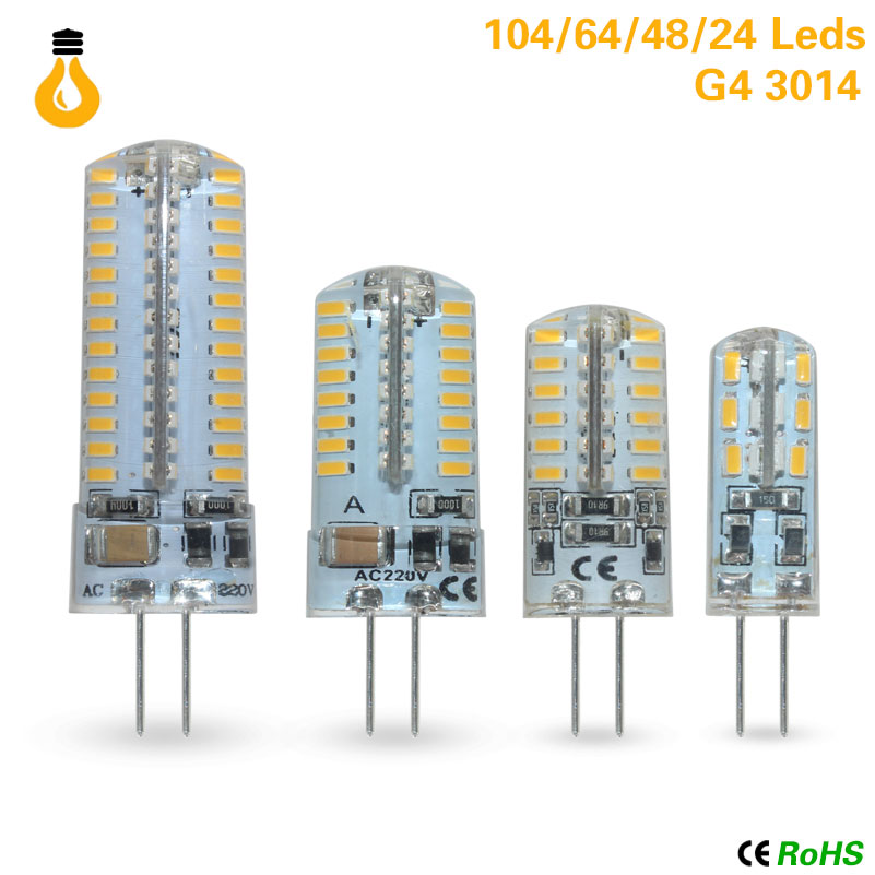 New 12 V AC/DC COB G4 Bombilla Led 6W COB LED G4 Luz De La Lamp Para La Lamp De Cristal G4 Luces Lamp G4 12v Led G9(China)