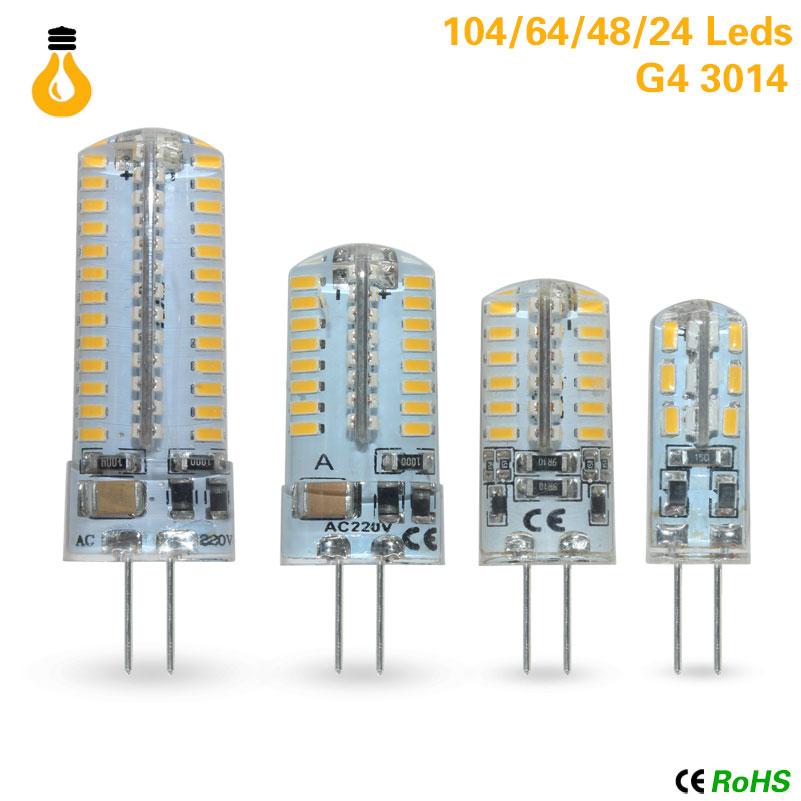 New 12 V AC/DC COB G4 Bombilla Led 6W COB LED G4 Luz De La Lamp Para La Lamp De Cristal G4 Luces Lamp G4 12v Led G9