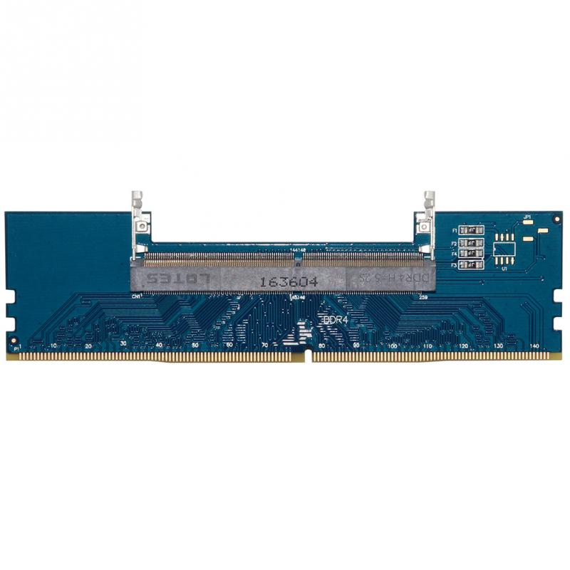 Image 1 - PCB DDR4 Blue Adapter Card Converter RAM Connector Memory Tester Supports 2133Mhz Over Current Protection For JEDEC-in RAMs from Computer & Office