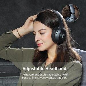 Image 3 - Dacom כפולה נהגים מעל אוזן רעש ביטול נייד אוזניות סופר בס אלחוטי Wired אוזניות 5.0 Bluetooth אוזניות מיקרופון