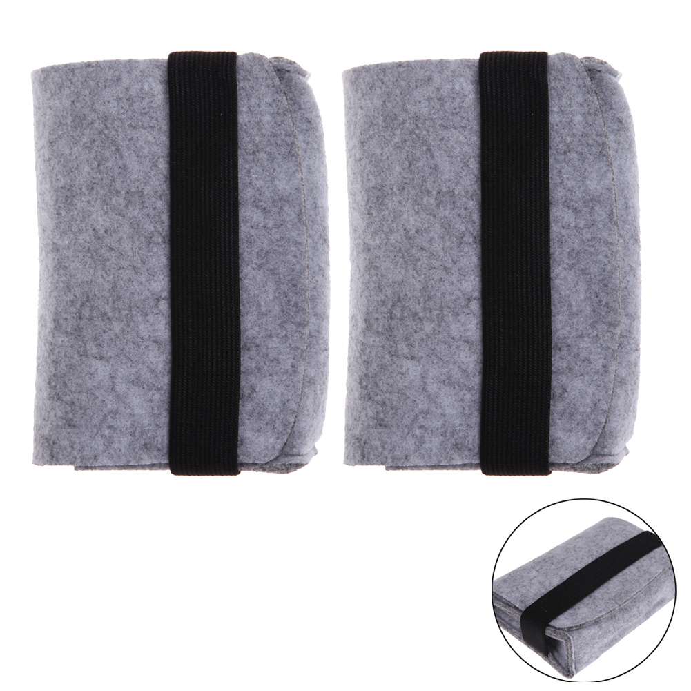 "High Quality 2pcs 2.5"" Mini USB Hard Drive Disk HDD Carry Case Cover Pouch Bandage Bag for Earphones Cellphone Hard Disk"