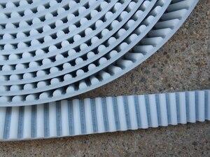 Image 3 - 10 متر HTD8M مؤقت اشتعال العرض 15 20 30 مللي متر اللون الأبيض بولي يوريثان بولي يوريثان مع الصلب الأساسية HTD 8 متر مفتوحة نهاية الملعب 8 مللي متر بكرة
