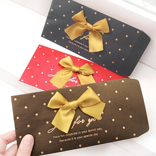 exquisite design gift card envelope luxury greeting card