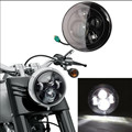 Harley Motorcycle Accessories 7'' Round projector LED Headlights 6000K high/Low beam headlamp for Harley Davidson