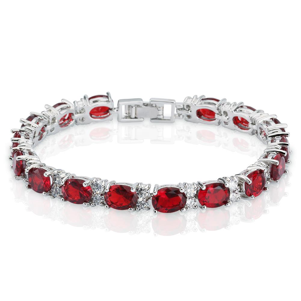 Women S Oval Cut Stones And Round White Cubic Zirconia Cz