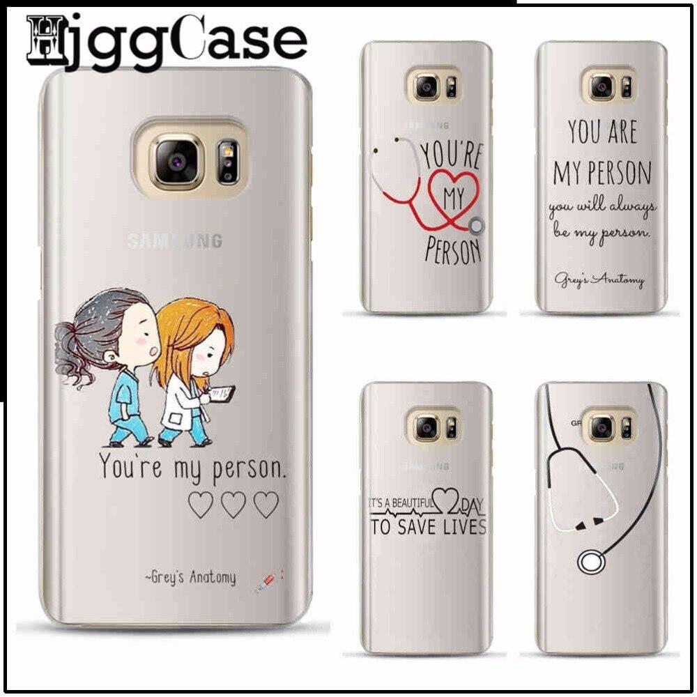 Anatomía del gris usted es mi persona para Samsung S6 S7 borde S8 ...