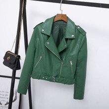 Leren Jas Dames Groen.Oothandel Green Biker Jacket Gallerij Koop Goedkope Green Biker