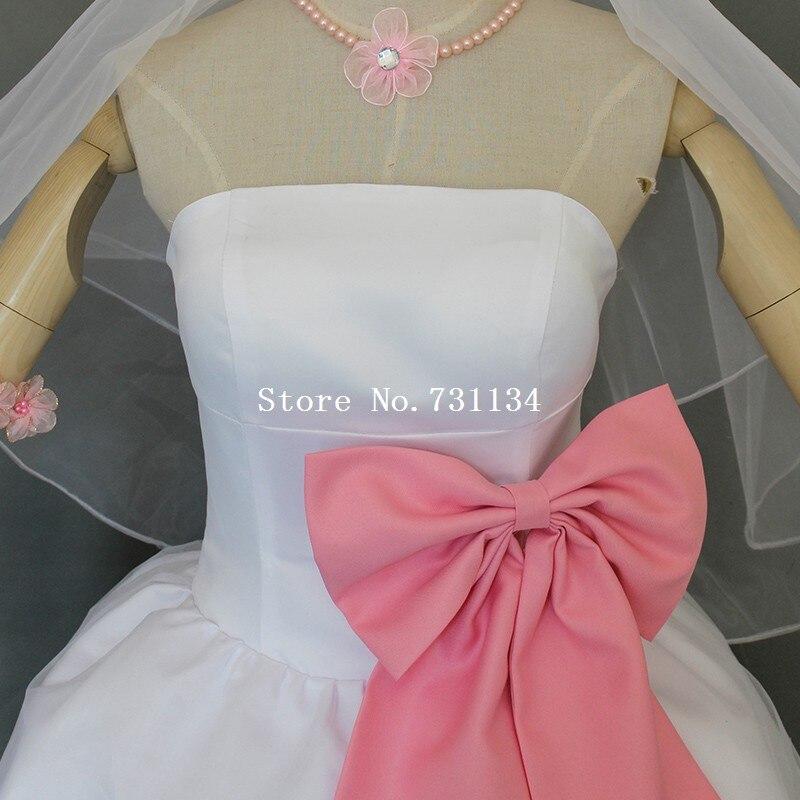 Lovelive traje trajes Yazawa Nico vestido lindo vestido de boda ...