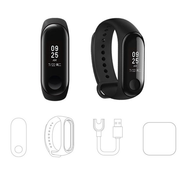 Smart Wristband  OLED Touch Screen Waterproof Heart Rate Fitness Tracker –Xiaomi Mi Band 3