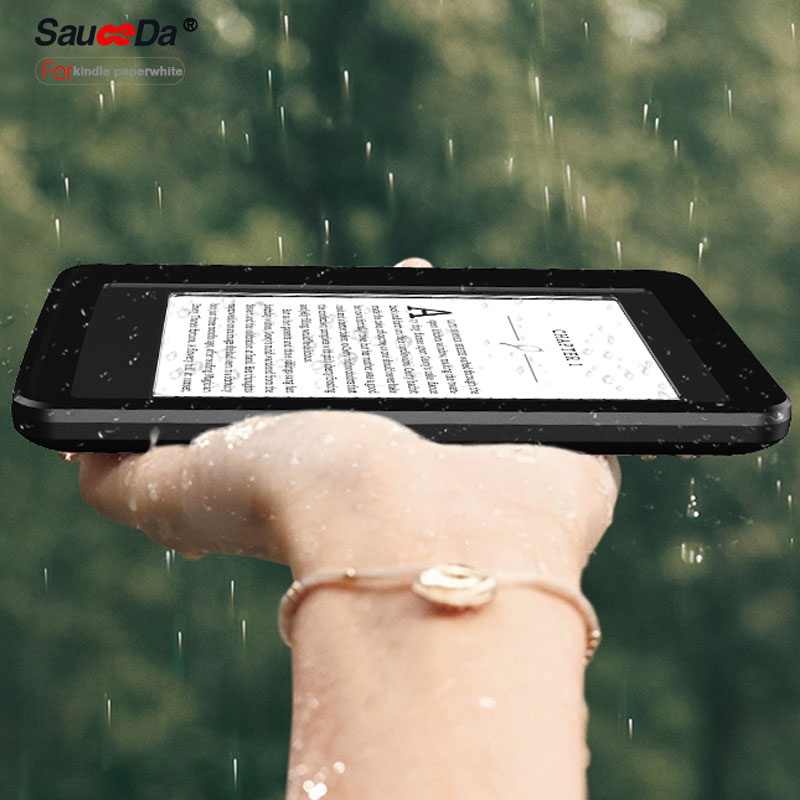 For Amazon kindle paperwhite waterproof case original life water shock proof ip67 for kindle paperwhite silicone Case shell bag