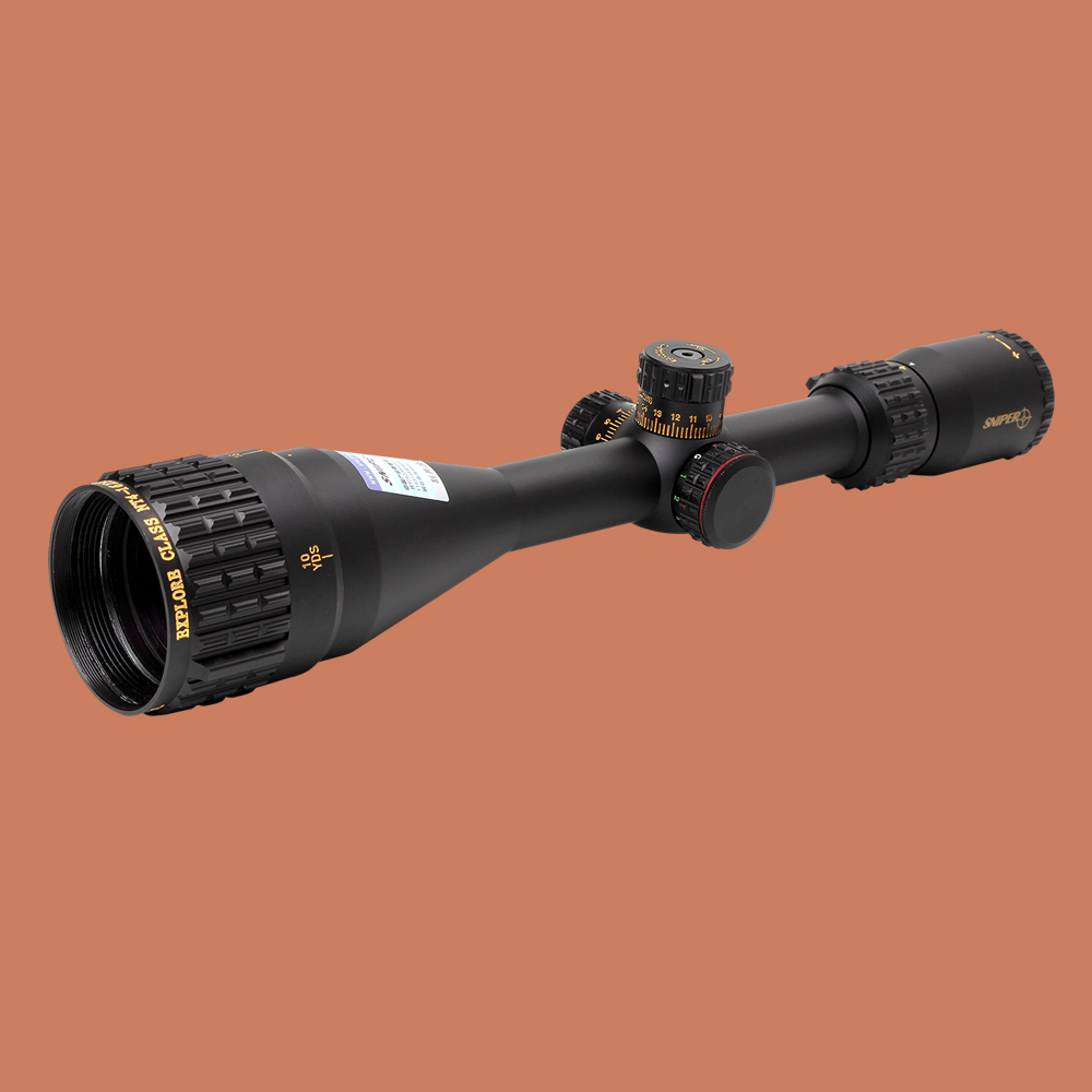 SNIPER NT 4-16X50 AOGL Riflescope Tactical Optical Sight Full Size Glass Etched Reticle RGB llluminate Hunting Rifle Scope kandar 4 16x40 aoe mil dot reticle riflescope locking resetting full size hunting rifle scope tactical optical sight