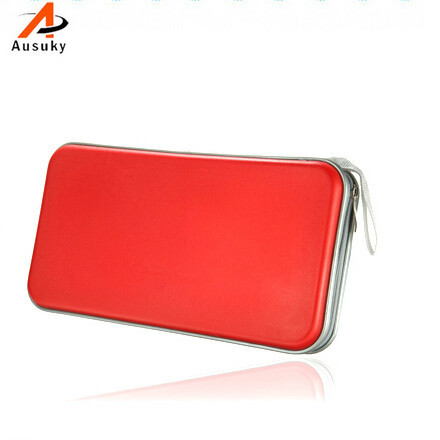 A Ausuky Multicolor Portable 80 Disc Large Capacity DVD CD Case for Car Media Storage CD Bag -15