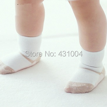 Kacakid 2 pairs/lot Baby cotton Socks Indoor shoes infant cute comfortable sock New born anti-skid Socks children sock