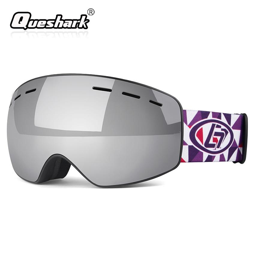 edba44c29 Children Big Frame Ski Goggles Anti-fog Face Mask Double Layer Skiing  Glasses