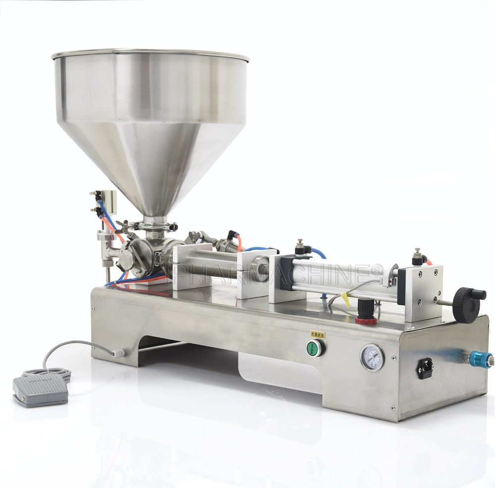 G1WG Automatic Cream Filling Machine,50-500ML Oil Filling Machine,Liquid filling machine (220V 50HZ) zonesun pneumatic a02 new manual filling machine 5 50ml for cream shampoo cosmetic liquid filler