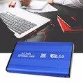 2.5 Дюймов USB3.0 Алюминиевый Сплав Внешний Жесткий Диск SATA Твердотельный ЖЕСТКИЙ ДИСК Скорость Передачи Данных до 5 Гбит