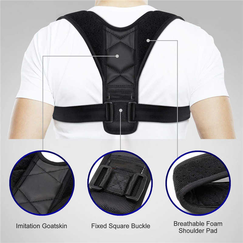 Premium scapular for posture vest postural corrector invisible back belt posture black upright posture