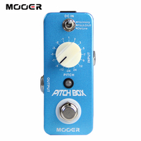 Free Shipping NEW Effect Guitar Pedal MOOER Compact Pedals Pitch Box Pitch Pedal Harmony Pitch Shifting