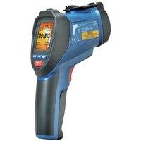 Termômetros infravermelhos infravermelhos visuais do ir com termorregulador do lcd DT-9862 da cor de tft