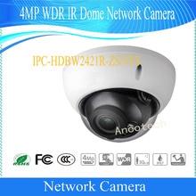 Free Shipping DAHUA IP Camera 4MP Waterproof IR Motorized Network Dome Camera IP67 IK10 without Logo IPC-HDBW2421R-ZS