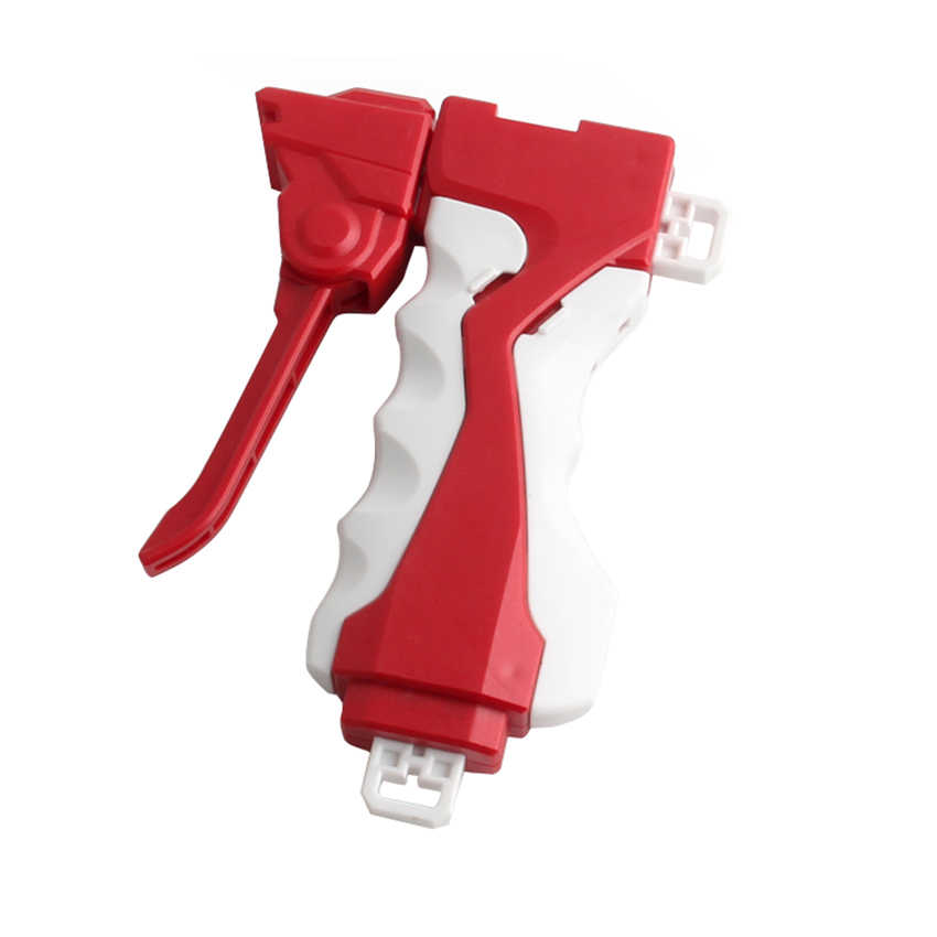 For Bey blade Burst Launcher Toys BB B-34 B-35 B-36 B-59 Carabiner Grip Launcher Toy Red Grip Launcher white