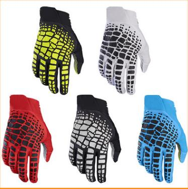 Motocross mountain bike sports outdoor equipment long finger riding Knight racing gloves