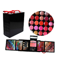 Newest Professional 177 Full Colors Eyeshadow Lip Gloss Make Up Palette Cosmetic Shimmer Matte Eye Shadow Blush Makeup Set Kit