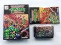 MD Game: TMNT Turtles Return of the Shredder (японская версия! Коробка + инструкция + картридж!)