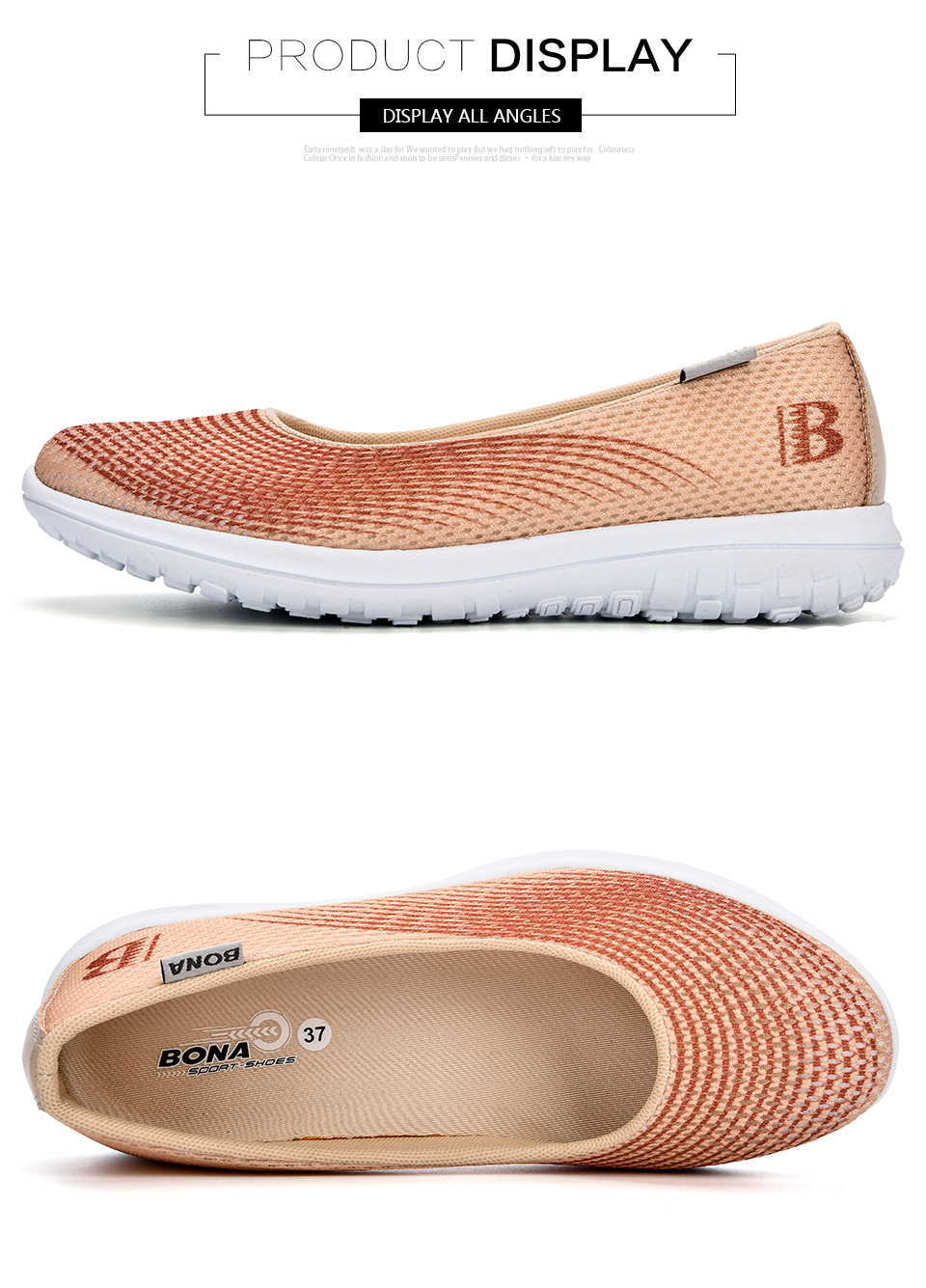 Women Sport Flats Fashion Shoes