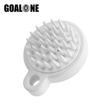 GOALONE Silicone Shampoo Brush Hair Washing Comb Scalp Massage Spa Slimming Scrubber Soft Brushes