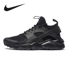 wholesale dealer 035a8 6b9eb Original New Arrival Official Nike Air Huarache Run Ultra Men s and Women s  All Black Running Shoes Sneakers 819685-002 36-44.5