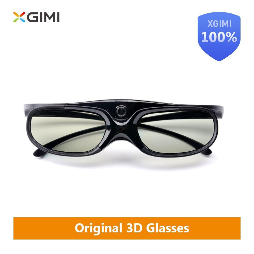 Original XGIMI DLP-Link flüssigkeit kristall shutter 3D gläser G102L 60 stunden 178 grad für XGIMI H1/XGIMI z4 Eingebaute batterie TV