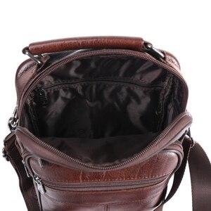 Image 5 - ZZNICK sacs à main Ipad pour hommes, sacoche en cuir de mouton, sacoche à bandoulière, sac de voyage pour hommes, 2017
