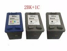 einkshop 21 22 xl Refilled Ink Cartridge Compatible for hp 21xl 22xl Deskjet F2180 F2280 F2130 F4180 F4100 F2100 F2200 printer цена 2017