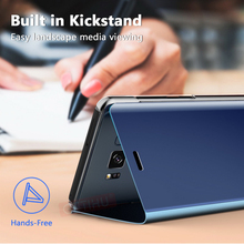 GETIHU 360 Mirror Flip Case for Samsung Galaxy S6 S7 S8 Plus Edge Case Coque Cover For Samsung S8 S9 Plus Note 8 9 A5 A8 A7 Case