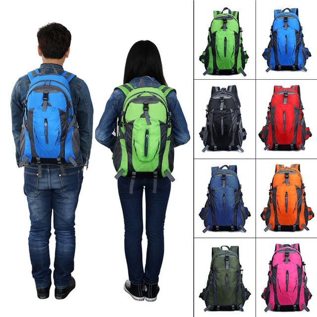 New Outdoor Sport Nylon Backpacks Women MenTravel Backpack Mountaineering Hiking Bags B2C Shop