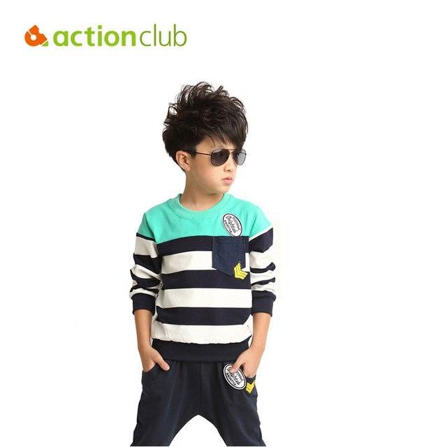 children clothing set Cotton boys suit range of sports and leisure suits 2014 streak mosaic piece kids clothing set KS232