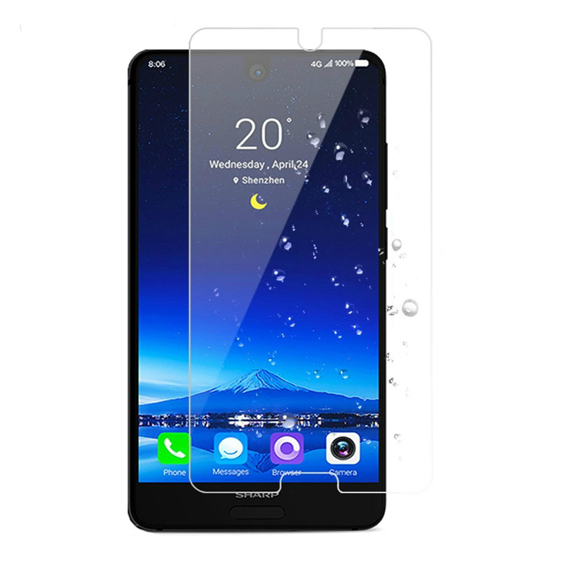 For Sharp Aquos S2 Tempered Glass 2.5D 0.26MM Explosion-Proof Screen Protector front Protective glass film For Sharp Aquos S2