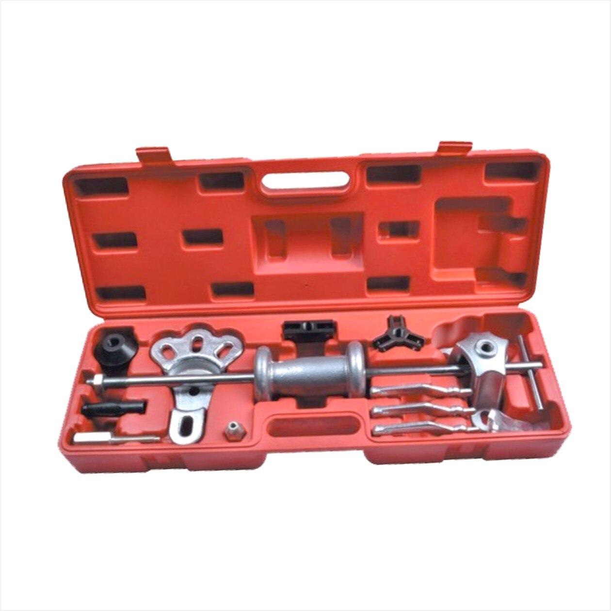 18pc Slide Hammer Dent Puller Oil Seal Bearing Extractor 2/3 Jaw External Internal HD