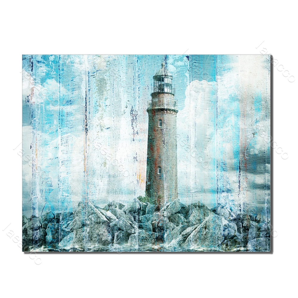 Laeacco Nordic Posters and Prints Abstract Wall Art Vintage Canvas Painting Living Room Bedroom Home Decor