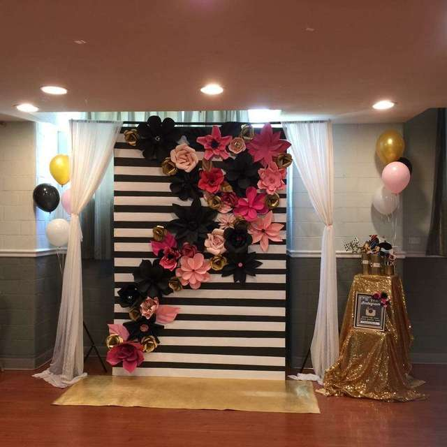17pcs ribbon color giant paper flowers for party wedding decor for 17pcs ribbon color giant paper flowers for party wedding decor for photo booth backdrop for wedding junglespirit Image collections
