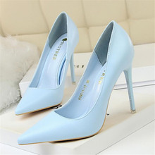 New fashion simple stiletto with high-heeled shallow mouth pointed suede sexy thin professional women's shoes women's high heels bigtree spring fashion simple lady high heels shallow mouth pointed toe suede sexy shoes women work high heels free shipping