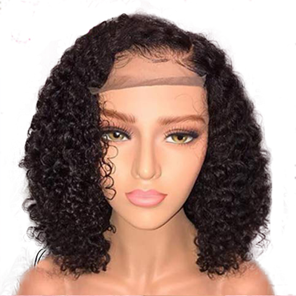 Hair Extensions & Wigs Lace Wigs Audacious Simbeauty Short Bob 13x6 Lace Front Human Hair Wigs Pre Plucked With Baby Hair Deep Curly Peruvian Remy Hair Lace Front Wigs