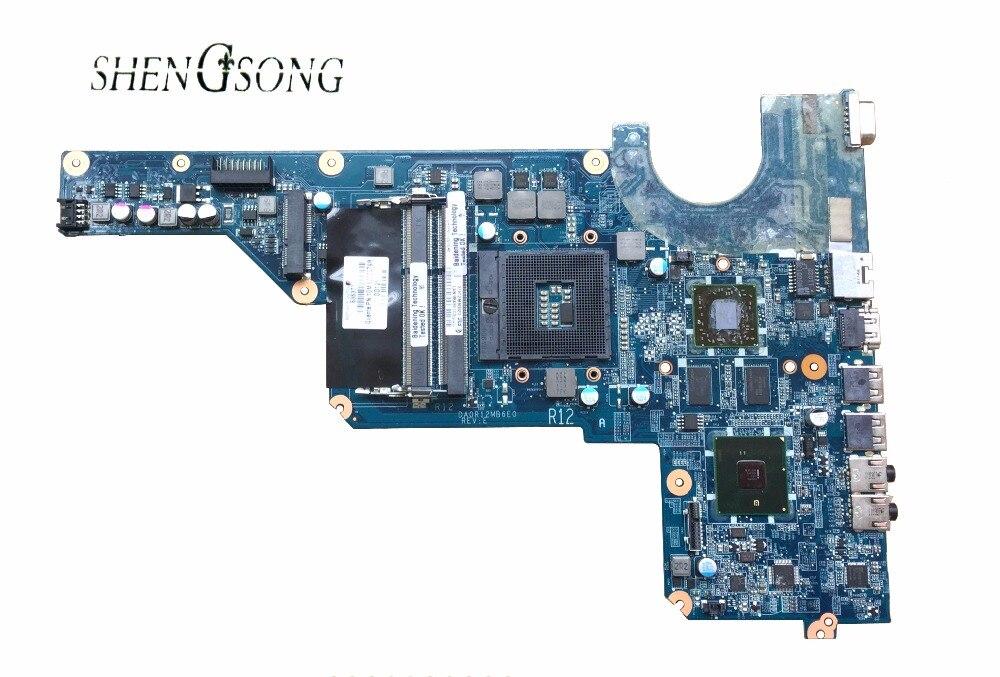 636371-001 для hp PAVILION G7T-1000 G4T-1000 для hp G4 G6 G7 Материнская плата ноутбука DA0R12MB6E0 DA0R12MB6E1 100% тестирование работы