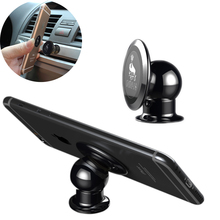 Hot Mini Car Phone Holder Magnet Dashboard Phone Holder For iPhone Accessories GPS Car Mount For Samsung Magnetic Phone Holder
